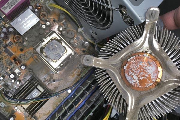Hardware Reinigung